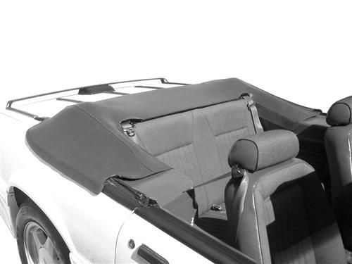 Mustang Convertible Top Boot Smoke Gray (87-89) - Picture of Mustang Convertible Top Boot Smoke Gray (87-89)