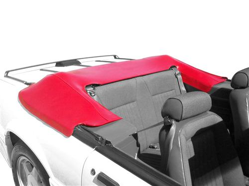 Mustang Convertible Top Boot Scarlet Red (87-89) - Picture of Mustang Convertible Top Boot Scarlet Red (87-89)