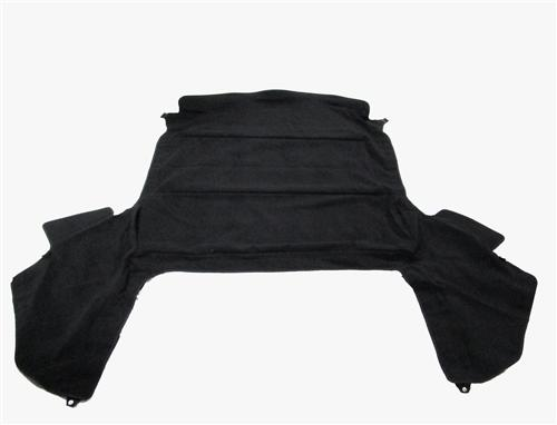 83-93 MUSTANG BLACK CONVERTIBLE HEADLINER