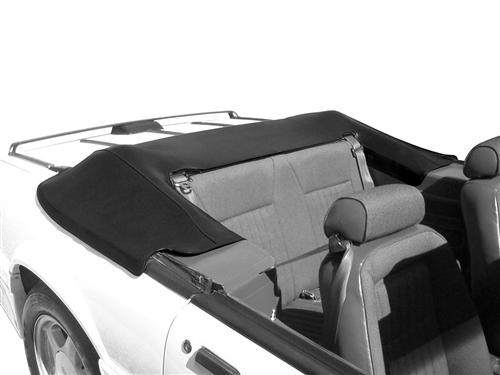 Mustang Convertible Top Boot Black (90-93) - Picture of Mustang Convertible Top Boot Black (90-93)