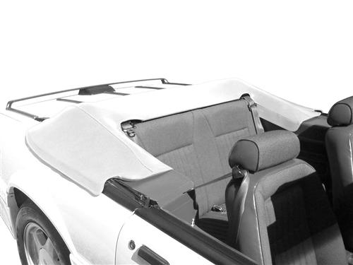 Mustang Convertible Top Boot Oxford White (90-93) - Picture of Mustang Convertible Top Boot Oxford White (90-93)