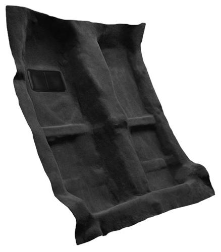 Mustang Floor Carpet for Coupe & Convertible Dark Charcoal (05-09)
