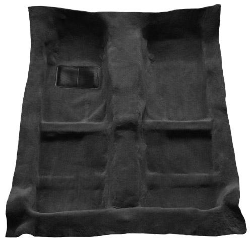 Mustang Floor Carpet for Coupe & Convertible Dark Charcoal (05-09) - Picture of Mustang Floor Carpet for Coupe & Convertible Dark Charcoal (05-09)