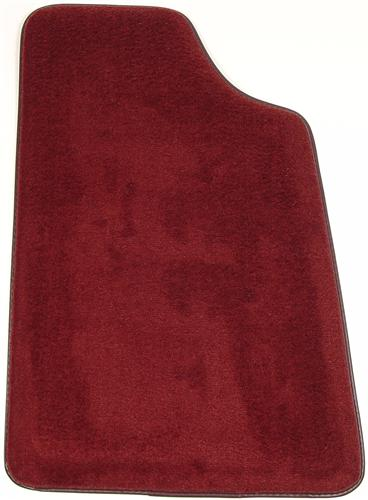 Mustang Canyon Red Floor Mats (84-86)