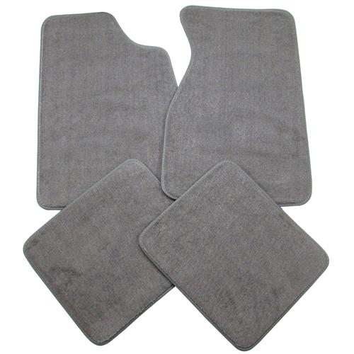 Mustang Floor Mats Smoke Gray (84-89)