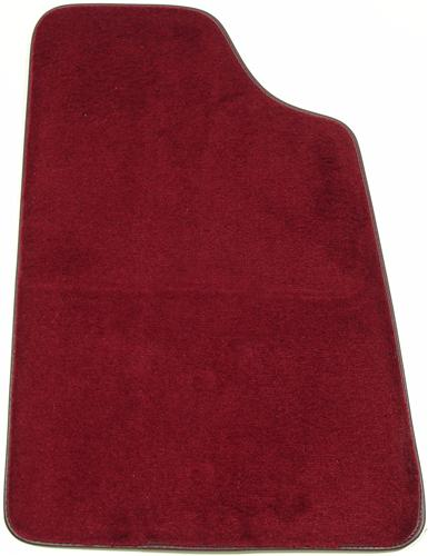 Mustang Ruby Red Floor Mats (93-93)