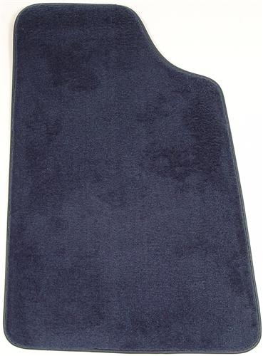 Mustang Floor Mats Regatta/Royal Blue  (85-93)
