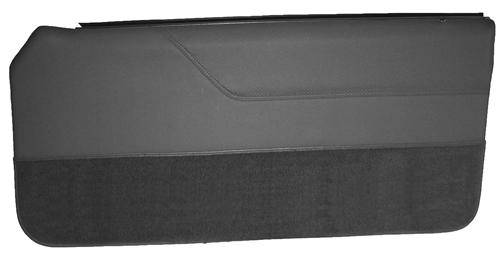 Mustang Lower Door Panel Carpet  Dark Gray/SVO Gray (84-86)