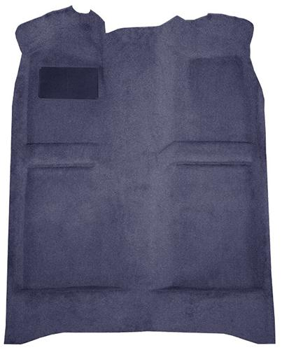 Mustang Floor Carpet  Wedgewood Blue/Medium Blue/Academy Blue (82-84) Coupe  Hatchback - Picture of Mustang Floor Carpet  Wedgewood Blue/Medium Blue/Academy Blue (82-84) Coupe  Hatchback