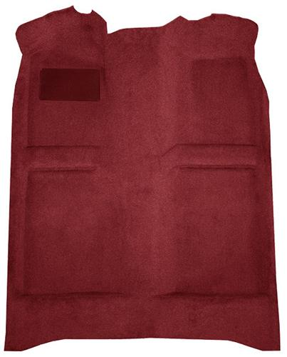 Mustang Floor Carpet  Ruby Red (93-93) Coupe  Hatchback