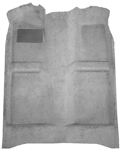 Mustang Floor Carpet Opal Gray (93-93) Coupe  Hatchback