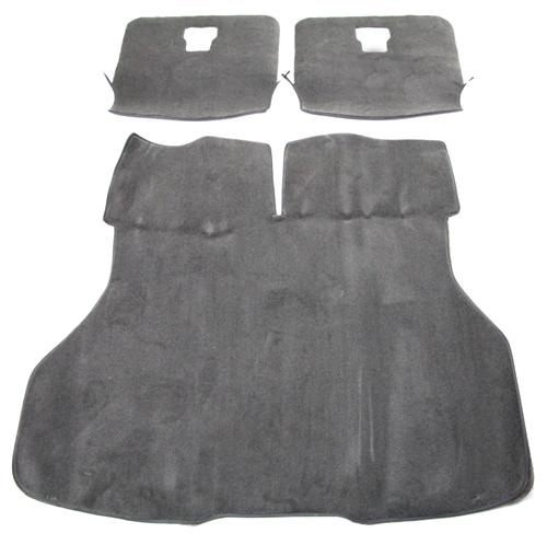 Mustang Hatch Area Carpet Smoke Gray (87-89) - Picture of Mustang Hatch Area Carpet Smoke Gray (87-89)