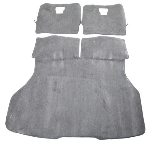 Mustang Hatch Area Carpet Opal Gray (93-93) - Picture of Mustang Hatch Area Carpet Opal Gray (93-93)