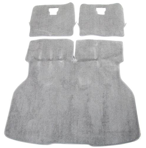 Mustang Hatch Area Carpet Titanium Gray (90-92) - Picture of Mustang Hatch Area Carpet Titanium Gray (90-92)