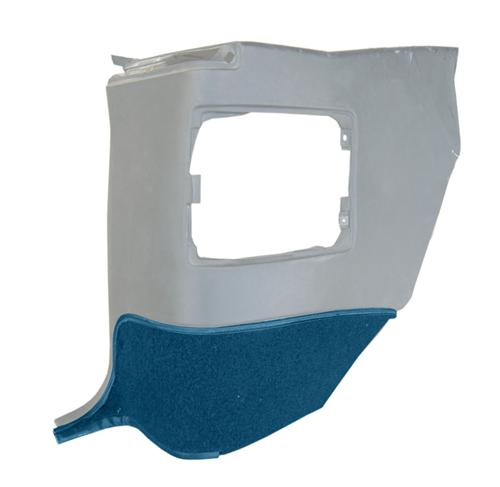 Quarter Trim Carpet Insert for Convertible Royal Blue (93-93)