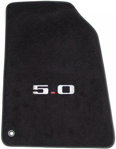 ACC Mustang Floor Mats with 5.0 Logo Black (94-95)