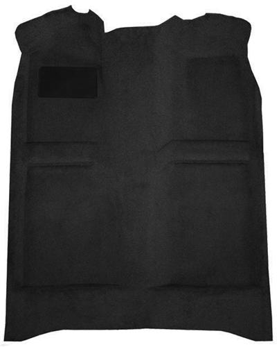 Mustang Floor Carpet w/ Mass Back Black (82-93) Coupe Hatchback - Picture of Mustang Floor Carpet w/ Mass Back Black (82-93) Coupe Hatchback