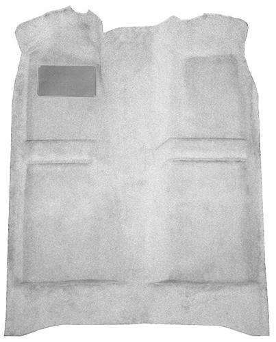 Mustang Floor Carpet w/ Mass Back Dark Gray/SVO Gray/Smoke Gray (84-89) Coupe  Hatchback
