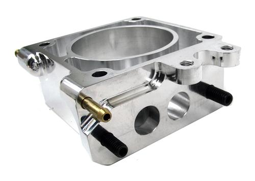 Accufab Mustang 75mm Throttle Body w/ EGR Spacer Polished  (86-93) 5.0L