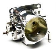 Accufab Mustang 70mm Throttle Body & Egr Spacer Polished  (86-93) 5.0L