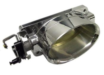 Accufab Mustang Single Blade Throttle Body Polished (96-01) Cobra-Bullitt