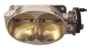 Accufab Mustang 60mm Dual Blade Throttle Body Polished (99-04) Cobra-Mach 1