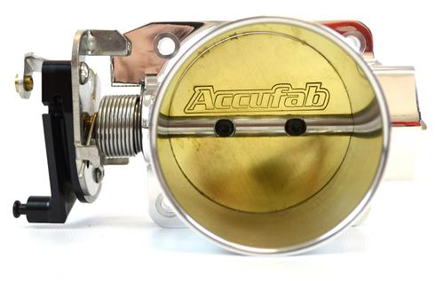 Accufab Mustang 75mm Throttle Body  Polished (96-04) GT 4.6L