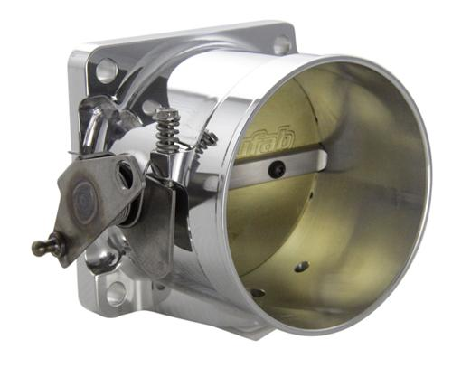 Accufab Mustang 5.0L 90mm Polished Throttle Body (86-93) - Accufab Mustang 5.0L 90mm Polished Throttle Body (86-93)