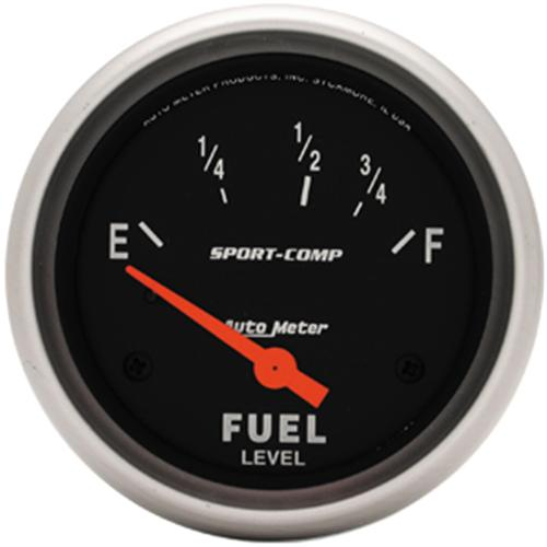 Autometer Sport Comp Fuel Level Gauge 2 1/16 . Ohm for 79/86 Application  Http://Www.Autometer.Com/Cat_Gaugedetail.Aspx?Gid=2778&Sid=15 - Picture of Autometer Sport Comp Fuel Level Gauge 2 1/16 . Ohm for 79/86 Application  Http://Www.Autometer.Com/Cat_Gaugedetail.Aspx?Gid=2778&Sid=15
