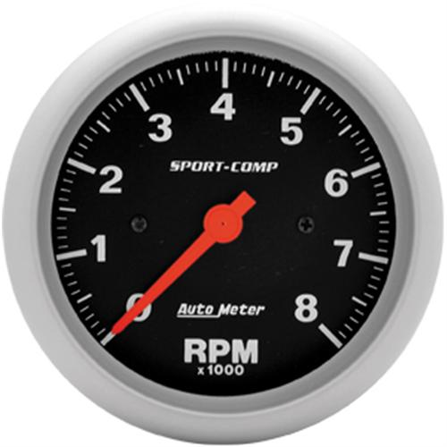 Autometer Sport Comp Tach 3 3/8  Http://Www.Autometer.Com/Cat_Gaugedetail.Aspx?Gid=2831&Sid=15 - Picture of Autometer Sport Comp Tach 3 3/8  Http://Www.Autometer.Com/Cat_Gaugedetail.Aspx?Gid=2831&Sid=15
