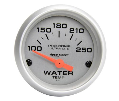 "Autometer  2 1/16"" Ultra Lite Short Sweep Coolant Gauge  - Picture of Autometer  2 1/16"" Ultra Lite Short Sweep Coolant Gauge"