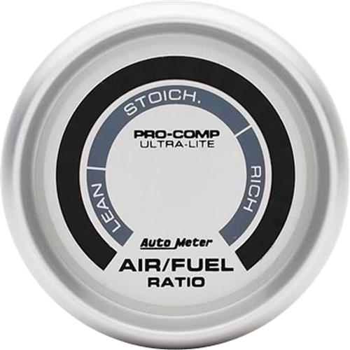 "Autometer  2 1/16"" Ultra-Lite Narrowband Air/Fuel Ratio Gauge"