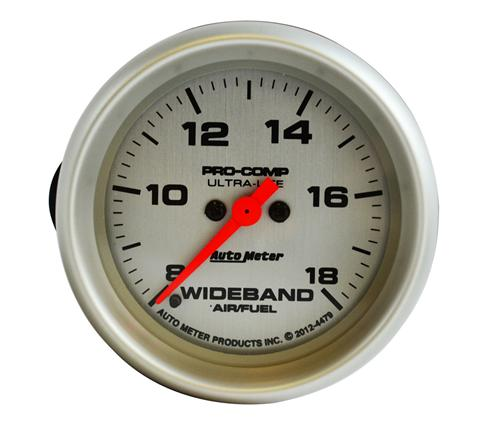 Auto Meter Air/Fuel Ratio Gauge Analog Wideband Ultra Lite 4479