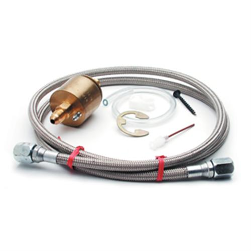 Autometer High Pressure Isolator Kit.  - Picture of Autometer High Pressure Isolator Kit. for Use with Mechanical Fuel Pressure/Oil Pressure Gauges To Keep Oil Lines/Fuel Lines Out Of Cabin. Will Work with Autometer Gauges And Our SVE Fuel P