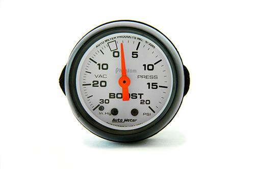 "Autometer  2 1/16"" Phantom Vacuum Boost Gauge - Autometer  2 1/16"" Phantom Vacuum Boost Gauge"