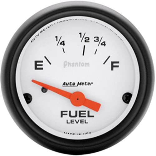 Autometer Phantom Fuel Level Gauge 2 1/16. Ohm Reading for 87-97 Application  Http://Www.Autometer.Com/Cat_Gaugedetail.Aspx?Gid=2610&Sid=7