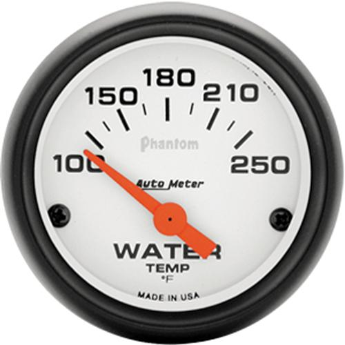 "Autometer  Phantom Coolant Temp Gauge - 2 1/16""  - Autometer  Phantom Coolant Temp Gauge - 2 1/16"""