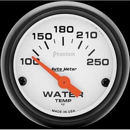 "Autometer  2 1/16"" Phantom Coolant Temp Gauge"