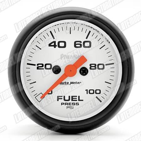"Autometer  2 1/16"" Phantom Fuel Pressure Gauge"