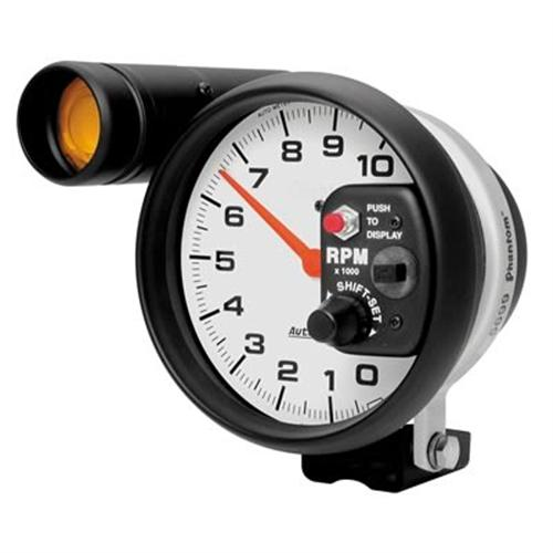 "Autometer  Phantom Tachometer w/ Shift Light - 5"" 5899"