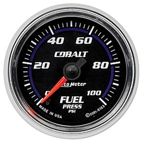 "Autometer Cobalt Fuel Pressure Gauge 0-100PSI 2 1/16"" - Picture of Autometer Cobalt Fuel Pressure Gauge 0-100PSI 2 1/16"""