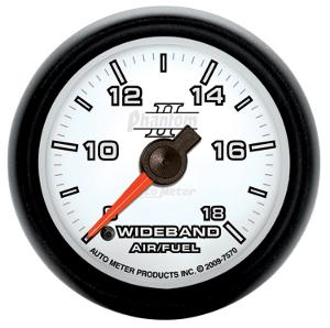 "Auto Meter Phantom II Wideband Air/Fuel Gauge 2 1/16"" 7570"
