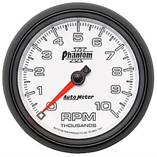 Autometer Phantom Ii Tachometer 3 3/8  Http://Www.Autometer.Com/Cat_Gaugedetail.Aspx?Gid=3499&Sid=59 - Picture of Autometer Phantom Ii Tachometer 3 3/8  Http://Www.Autometer.Com/Cat_Gaugedetail.Aspx?Gid=3499&Sid=59