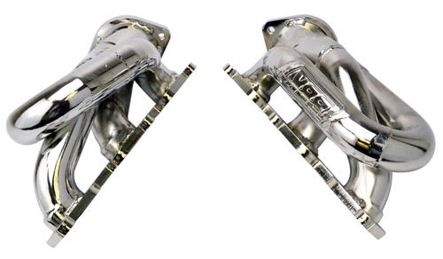 2001-14 Mustang BBK Shorty Headers Chrome V6 - 2001-14 Mustang BBK Shorty Headers Chrome V6