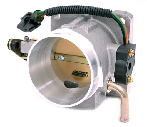 BBK Mustang 70mm Throttle Body Satin  (86-93) 5.0L  1501