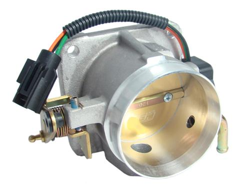 BBK Mustang 75mm Throttle Body Satin  (86-93) 5.0L  1503