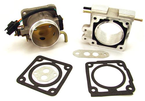 BBK  F-150 SVT Lightning 75mm Throttle Body And Spacer Kit Satin (93-95) 5.8