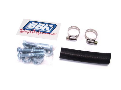 "BBK Mustang 2.5"" Catted H-Pipe for Longtube Headers 5.0L (86-93) 1509"