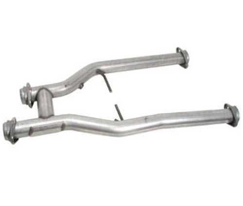 "BBK Mustang 2.5"" Off Road H-Pipe for Long Tube Headers 5.0L (79-93) 1510"