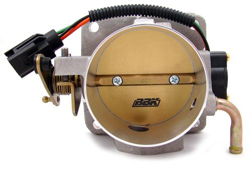 BBK Mustang 80mm Throttle Body Satin  (86-93) 5.0L  1514